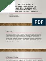 Estudio de La Infraestructura de Comunicaciones Del Altiplano