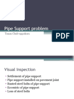 Pipe Support Problem