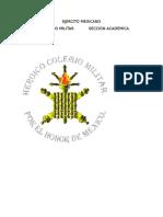 COMPENDIO DE ÉTICA MILITAR Y CIVISMO (DISCENTE)