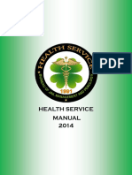Health Service Manual 1st Edition 2014