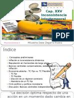 Inconsistencia Intertemporal y Política Monetaria - TERMINADO