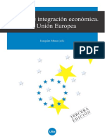 Lecturas de Integración Económica. La Unión Europea.