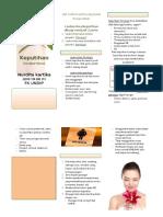 Leaflet - keputihan (leukore)