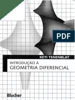 Introducao a Geometria Diferencial 2nd Ed Ketti EB 2008