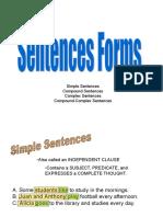 Simplecompoundcomplexcompound Complexsentences