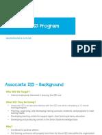 Associate ISD Program