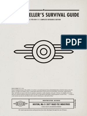 Fallout 4 Survival Guide | Armed Conflict | Leisure