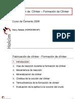 Formacion Clinker