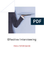 effective interviewing - facilitator guide 07-1