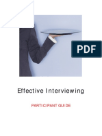 effective interviewing - participant guide 07-1