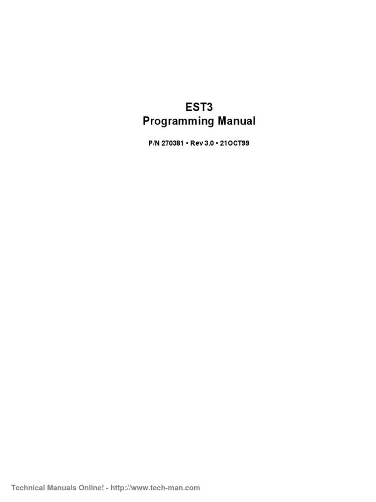 est est3 v3 0 programming manual parameter computer programming rh scribd com