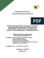 Proyecto Final Nurtac Desarrollo