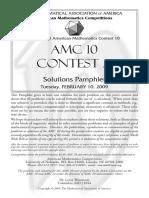 2009AMC10-A Solutions