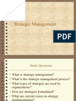 Original. Strategic Management