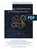 Øye (Ingvild)_Settlements and Agrarian Landscapes. Chronological Issues and Archaeological Challenges ((16. Viking Congress, 2009)