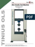 U-Series Instruction Manual 820-7001_15Issue_03