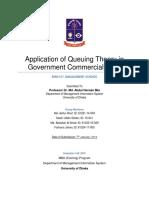 Revised-Management Science Report - Queue Banking