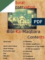 Documentation on Bibi Ka Maqbara