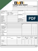 Employee Information Sheet