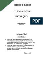 PS Influência Social Inovação