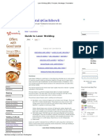 Laser Welding (LBW)_ Principles, Advantages, Presentation