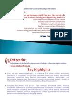 Costperhirerecruitmentperformancemetricsandanalytics 31052011 110601054403 Phpapp01