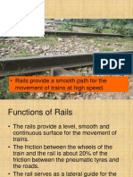 Railways, Rails