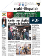 Front Page — The Herald-Dispatch, March 2, 2010