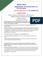 MU0012-Employee Relations Management
