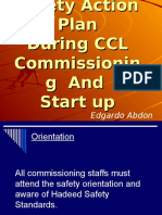 POSCO E & C Action Plan During CCL Commissioning and Start Up Period