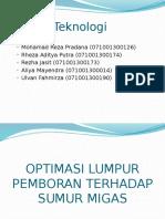 Optimasi Lumpur Pemboran Terhadap Sumur Migas (1)