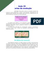 Biologia - Aula 25 - Teorias da evolução