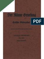 Ludendorff, Mathilde - Der Minne Genesung; Erotische Wiedergeburt; Ludendorffs Verlag
