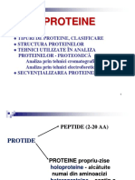 Curs Proteine Structura Proteomica