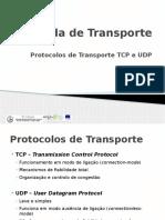 Camada e Protocolos de Transporte