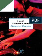 Zwagerman, Joost - Chaos en Rumoer