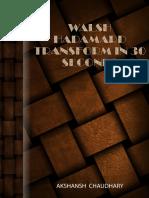 Walsh Hadamard Transform Shortcut - Akshansh