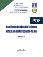 Program EFM 2015