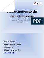 Financiamento Da Nova Empresa