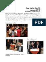 Januar 2016 (Newsletter Nr. 76)
