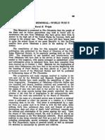 WWII Oklahoma War Casualties