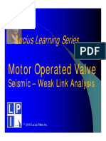 Lucius Learning Series - MOV Seismic Weak Link