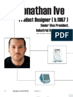 Designer Profile for Jonathan Ive
