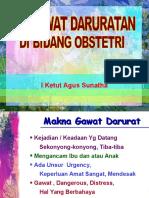 Kegawatan Obstetri