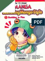 Sketching Manga Style 10012014