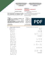 0121 Sistemas de Ecuaciones Lineales (Activitats)