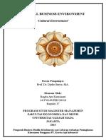 GBE Cultural Environment Regita Ayu Kurniasari REG37