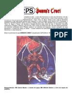 GURPS - Demon's Crest