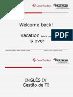 Inglês 4 semestre Fatec
