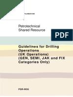 Manual Drilling Practice